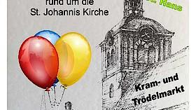 Johannis-Flohmarkt rund um die Kirche