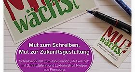 """FÄLLT LEIDER AUS: Schreibwerkstatt """"Mut wächst!"""""""