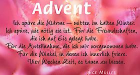 Adventsgottesdienst m. P. T. Drömann