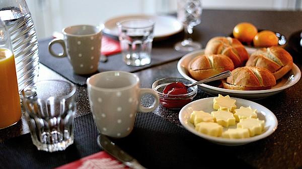 Frühstücksgruppe