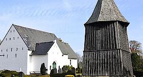 Herbstkirche der Region Angeln Nordwest
