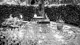 Andacht im Garten