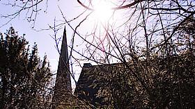 Sommerkirche Bergpredigt