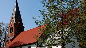 Sommerkirche mit Aufzeichnung
