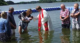 Taufgottesdienst am Südensee