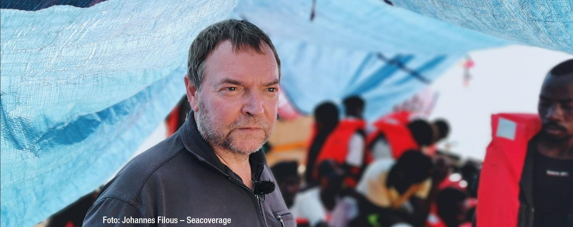 Kapitän Claus-Peter Reisch: Meer der Tränen